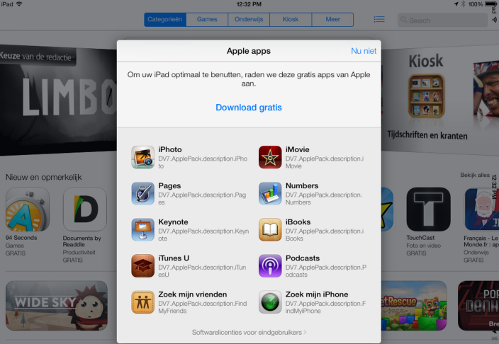 Free Premium Apps With iOS 7