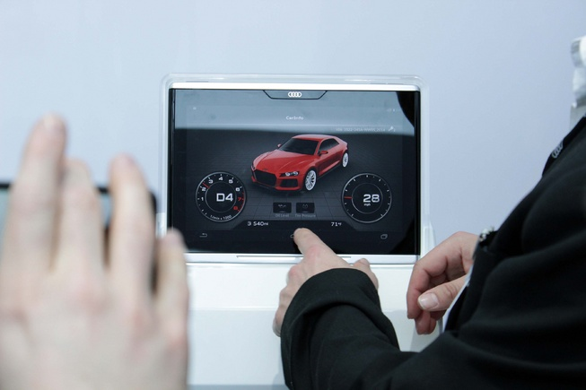 Audi-Android-based-Tablet