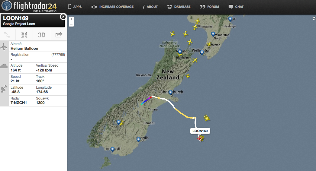 Project-Loon-tracking