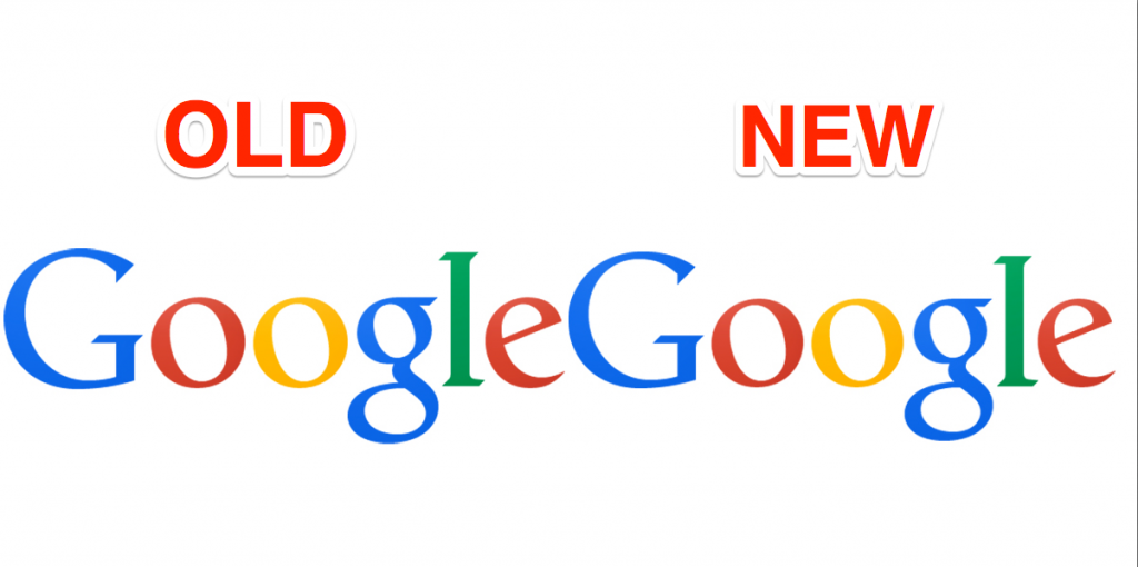 try spotting the change in the new google logo gadget adda