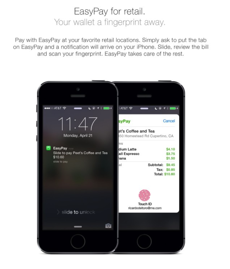 Mobile payment service by Apple could be ready in time for iPhone6​​