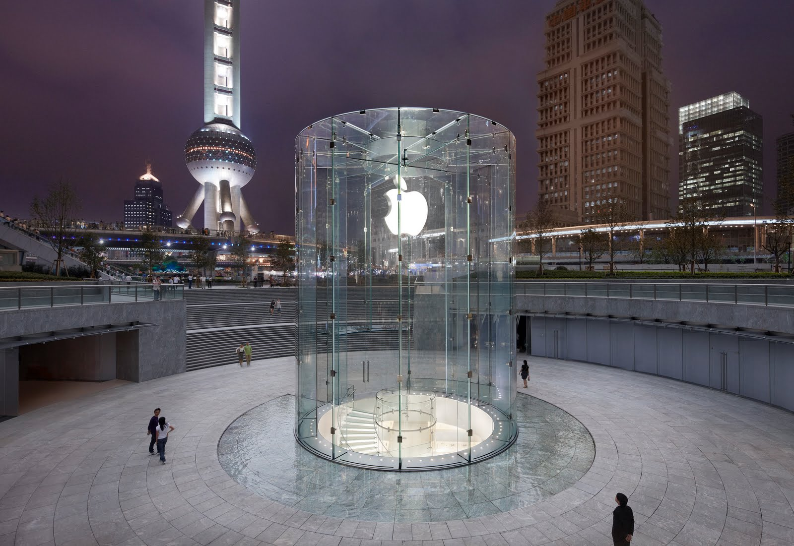 According to a report by 9to5mac Apple had planned a few retails stores in Chongqing region as well