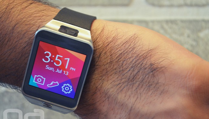 Galaxy Gear 2 is very much similar to the earlier launched Samsung Galaxy Gear