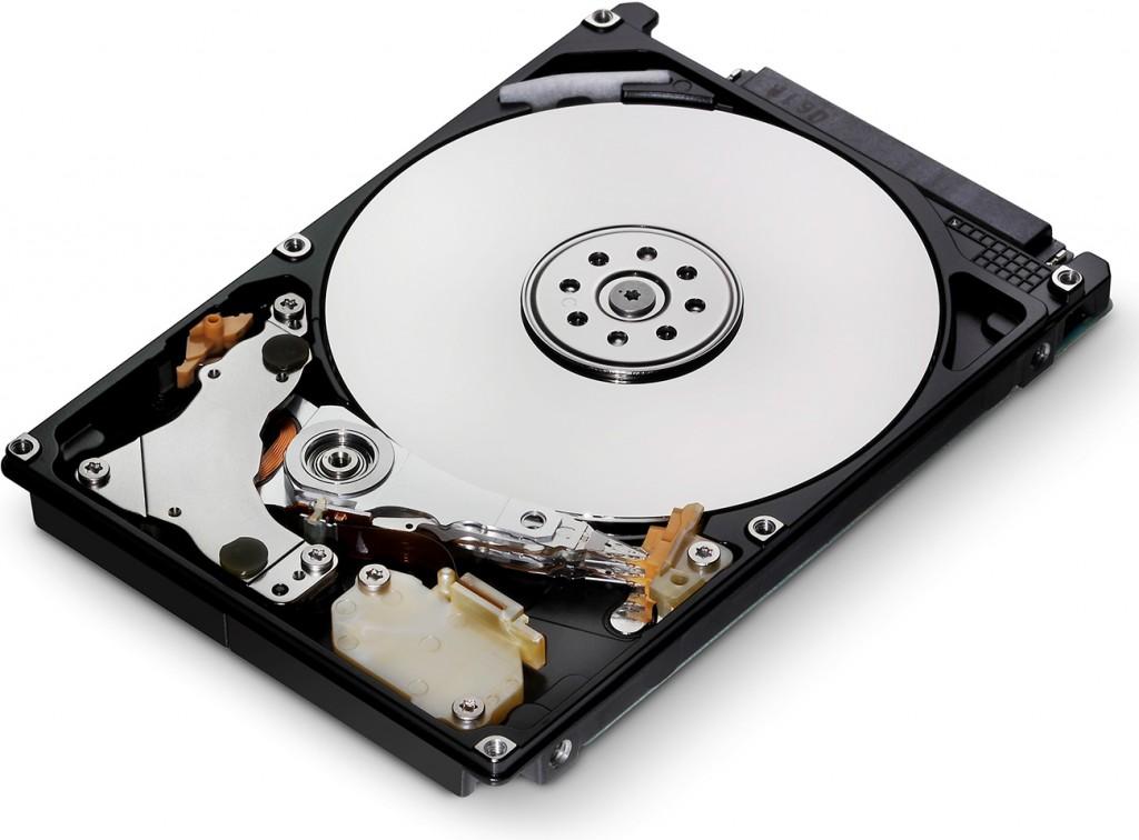 A hard disk drive (HDD)